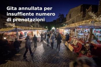 Mercatino di Natale 2019 a Sutri e visita a Palazzo Farnese a Caprarola- Sabato 14 Dicembre 2019RE 2019