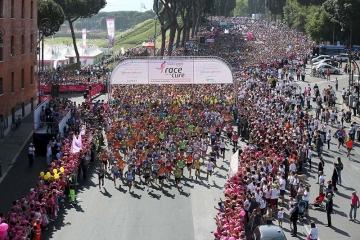 RACE FOR THE CURE CRAL MPS ROMA e Una corsa per la vita 16 -17-18-19 Maggio 2019 Roma Circo Massimo